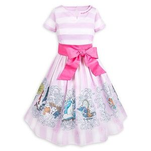 Disney Dress Shop The Aristocats Pink Striped